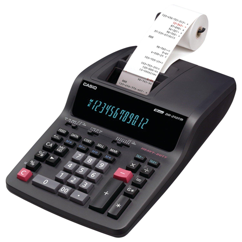 Casio DR-210TM Printing Calculator