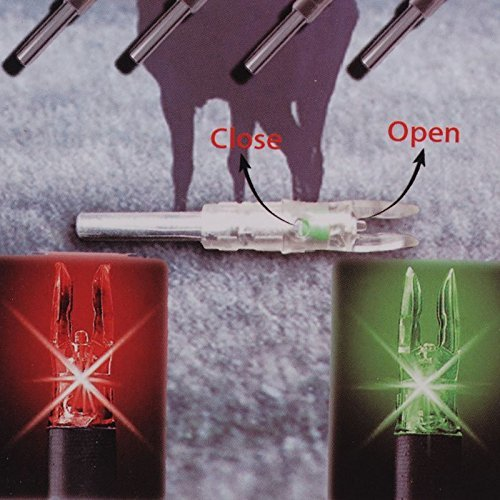 3PCS Shooting Automatically Lighted Nock Compound Bow Led Lighted Arrow Nock