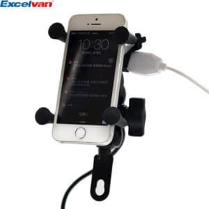 Excelvan Universal Motorcycle Phone Mount Holder