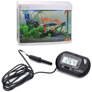 HDE Digital Aquarium Thermometer Fish Tank Thermostat Water Temperature Control