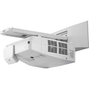NEC Display Solutions NP-UM351W-WK NP-UM351W-WK 3500-Lumen Widescreen Ultra Short Throw Projector with Wall Mount