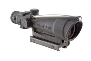 Trijicon ACOG Dual Illum Crosshair .300 Blackout Ballistic Reticle, 3.5X 35mm, Amber
