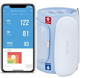 iHealth Feel Wireless Upper Arm Blood Pressure Monitor for Apple and Android (Standard Cuff)