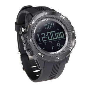 Pyle PSWWM82BK Digital Multifunction Sports Watch