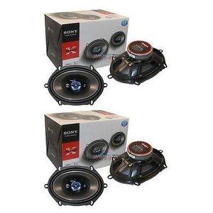 Sony XS-R5744 X-Plod 4-Way