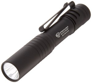 Streamlight 66318 MicroStream Ultra-compact Aluminum body Flashlight with AAA Alkaline Battery