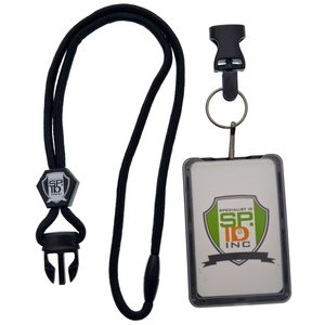 Specialist ID Vertical Top Load THREE CARD Badge Holder