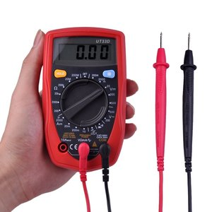Ulincos Digital Multimeter UT33D Amp