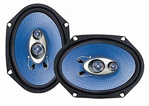 ar Sound Speaker (Pair) - Upgraded Blue Poly Injection Cone 3-Way 360 Watts