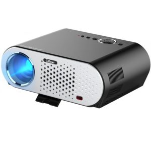 CiBest Video Projector Portable, GP90 LCD Projector HD 1080p LED Multimedia Home Cinema Theater Entertainment Movie Party Game Projector HDMI VGA for Laptop iPad Smartphone