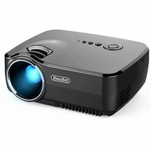 Hausbell Mini Projector Portable Video LED Projector