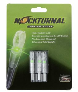 Nockturnal-GT Lighted Nocks for Arrows with .246 Inside Diameter including various Gold Tip Arrows