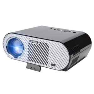 Ohderii Portable Projector 30,000 Hour LED Full HD Video Projector 1080P Supported Compatible with Fire TV Stick PS4 HDMI VGA TF AV and USB