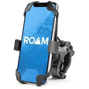 Roam Universal Premium Bike Phone Mount for Motorcycle - Bike Handlebars, Adjustable, Fits iPhone X, XR, 8 | 8 Plus, 7