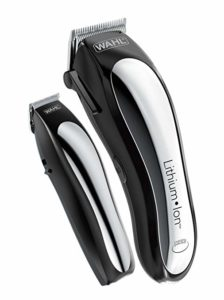 Wahl Lithium Ion Cordless Rechargeable Hair Clippers and Trimmers